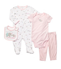 Carter's® Baby Girls' Pink 4-pc. Elephant Layette Set