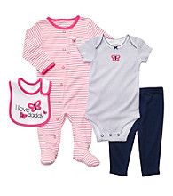 Carter's® Baby Girls' Pink 4-pc. Butterfly Layette Set