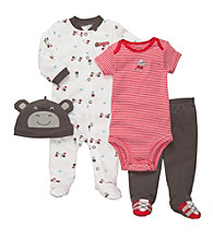Carter's® Baby Boys' Grey Hippo Layette Set