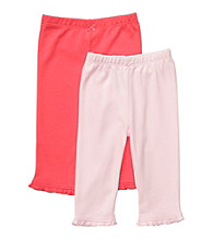 Carter's® Baby Girls' Orange/Pink 2-pk. Pants