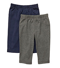 Carter's® Baby Boys' Heather Grey/Navy 2-pk. Pants