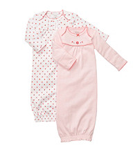 Carter's® Baby Girls' Pink/White 2-pk. Gowns