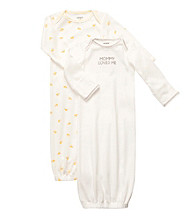 Carter's® Baby White/Yellow 2-pk. Gowns