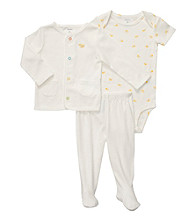 Carter's® Baby Ivory 3-pc. Footed Pants Set