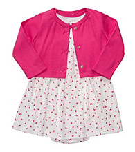 Carter's® Baby Girls' Pink 2-pc. Butterfly Dress Set
