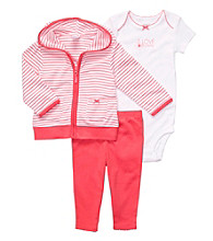 Carter's® Baby Girls' Coral 3-pc. Cardigan Set