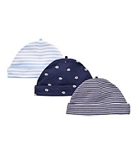 Carter's® Baby Boys' Navy 3-pk. Elephant Caps