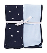 Carter's® Baby Boys' Navy Blue 2-pk. Elephant Swaddle Blankets
