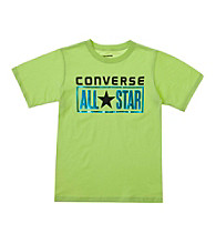 Converse® Boys' 8-20 Short Sleeve License Plate Tee