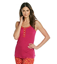 DKNY® Knit Tank Top - Glam Fuchsia