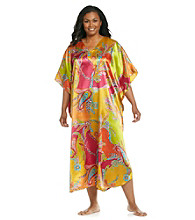 Winlar® Long Caftan - Yellow Multi