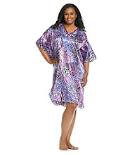 Winlar® Caftan - Purple Animal
