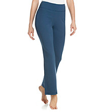 KN Karen Neuburger Knit Yoga Pants - Navy
