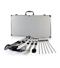 Picnic Time® Mirage Pro 11-pc.  Stainless Steel Barbecue ToolSet