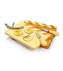Picnic Time® Action! Movie Themed Wood Cheese Board And Stainless Tools
