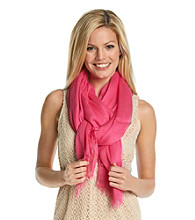 Collection 18 Disco Pink Gauzy Solid Wrap