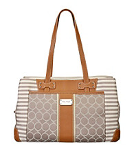 Nine West® On Cloud 9 Denim Medium Satchel