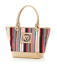 AK Anne Klein® Multi/Sand Tropical Punch Medium Tote