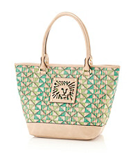 AK Anne Klein® Granny Smith Tropical Punch Medium Tote