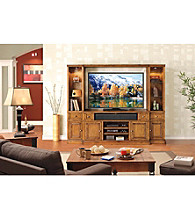 APA Pinecrest Wall Unit Entertainment Center