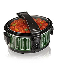 Hamilton Beach® 6-qt. Stay-or-Go Football Slow Cooker with Clip