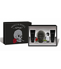 Ed Hardy Skulls & Roses for Men Gift Set (A $105 Value)