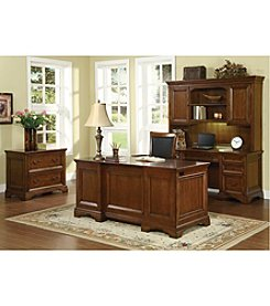 Flexsteel Valencia Cherry Executive Office Collection