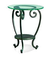 Bassett® Mirror Company Dauphine Wrought Iron Chairside Table