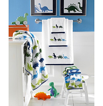 Homepage > bed bath > kassatex dino park bath towel collection