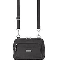 Bagallini Triple Zip bagg Crossbody
