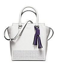 COACH LEGACY PERFORATED MINI TANNER BAG