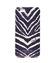 COACH ZEBRA PRINT IPHONE 5 CASE