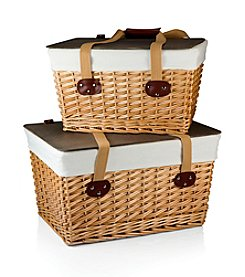 Picnic Time® The Natural Willow Canasta Grande Picnic Basket