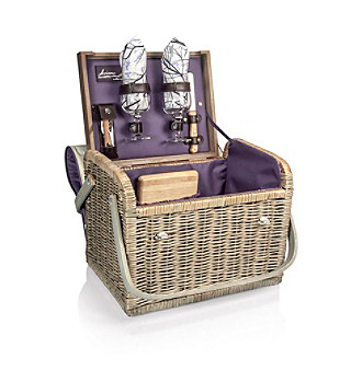 Picnic Time® Kabrio - Aviano Willow Wine Basket