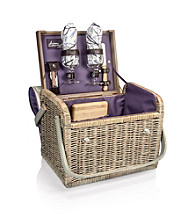 Picnic Time® Kabrio - Aviano Willow Wine Basket