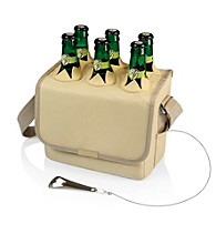 Picnic Time® Six-Porter Insulated Beverage Tote