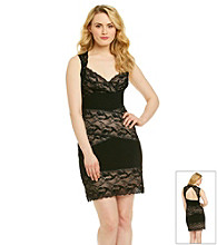 Marina Banded Lace Sheath Dress
