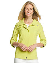 Laura Ashley® Petites' Lemongrass Weekend Jacket