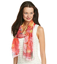 Basha Multi Digital Photography Floral Neckwrap
