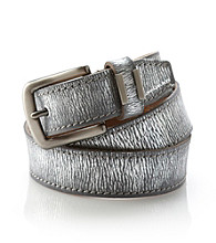 Calvin Klein Jeans® Pewter Metallic Belt