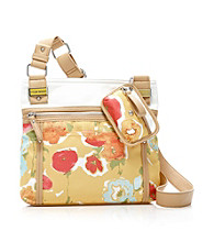 Tyler Rodan™ Water Floral Yellow Tulip Crossbody
