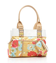 Tyler Rodan™ Water Floral Yellow Tulip Satchel