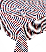 LivingQuarters American Stripe Table Linens