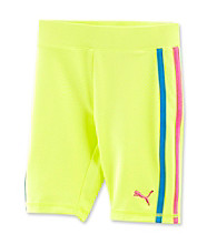 PUMA® Girls' 2T-6X Safety Yellow Bike Shorts