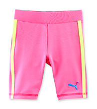 PUMA® Girls' 2T-6X Sugar Plum Pink Bike Shorts