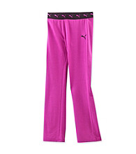 PUMA® Girls' 7-16 Purple Yoga Pants
