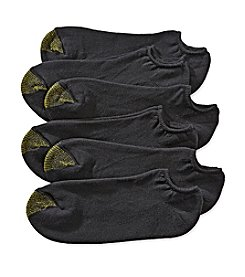 GOLD TOE® Men's Extended Size 6-Pack No-Show Athletic Socks