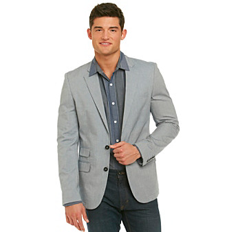 Can I wear white sole shoe with a sporty blazer?