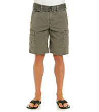 DKNY JEANS® Men's Overdyed Belted Canvas Cargo Short