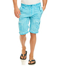 Guess Men's Pigment Tumble Safari Cargo Short